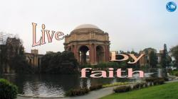 Picture of the Palace of Fine Arts for the by faith Bible lesson