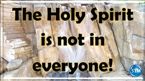 picture of waterfall w/truth for the holy spirit bl