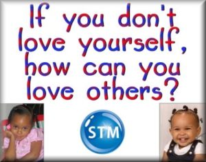 Picture of two grands for the love yourself bible lesson
