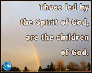 picture of rainbow for spirit-led bible lesson