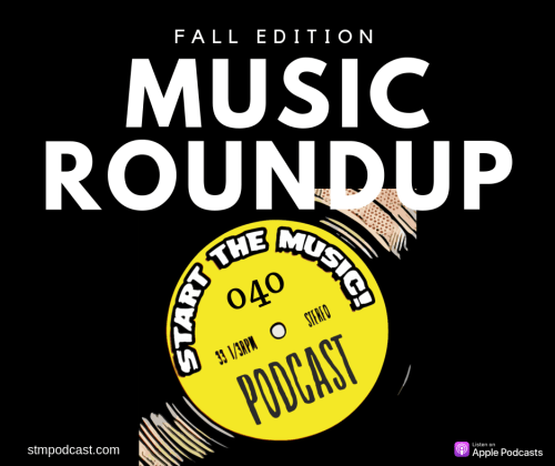 Find new music with the music roundup!