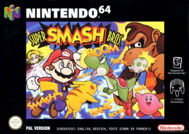 Original Smash Bros cover art | Courtesy of Nintendo Life
