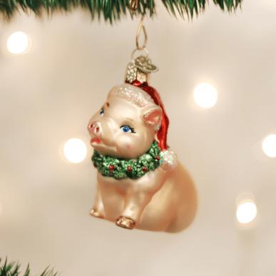 Pig Christmas Ornaments
