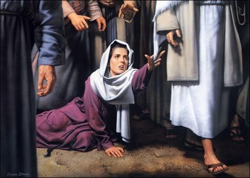 Woman of Faith - Healed through the touch of a Saviors Hem!