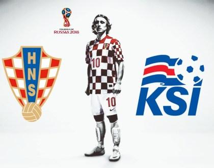 World Cup Qualifier - Croatia vs Iceland