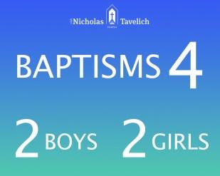 Statistic baptisms 2017