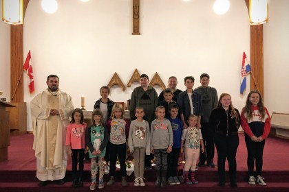 Mass for New Catechism Year