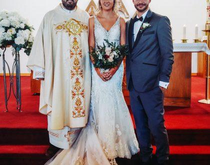 The Sacrament of Marriage of Jakub Augustin and Amanda Brnjas