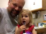 popsicle at the doctor's office