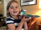 One of Maggie's many Lego creations.