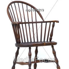 Antique Wood Chair Red Rocking Song Stock Photo Windsor Isolated Wooden Vintage Image