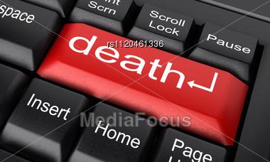 word death on keyboard