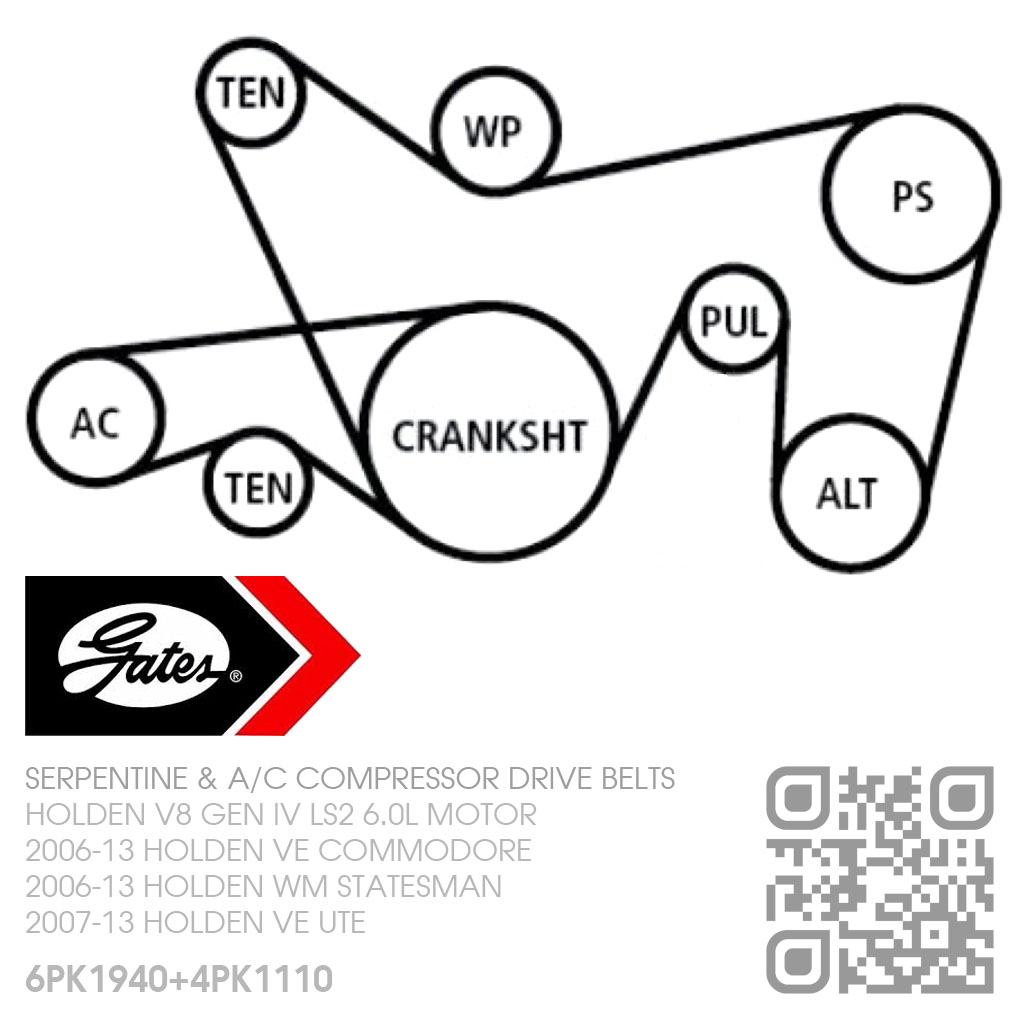 hight resolution of gates micro v drive a c belts v8 ls2 6 0l motor holden ve serpentine belt diagram for ls2