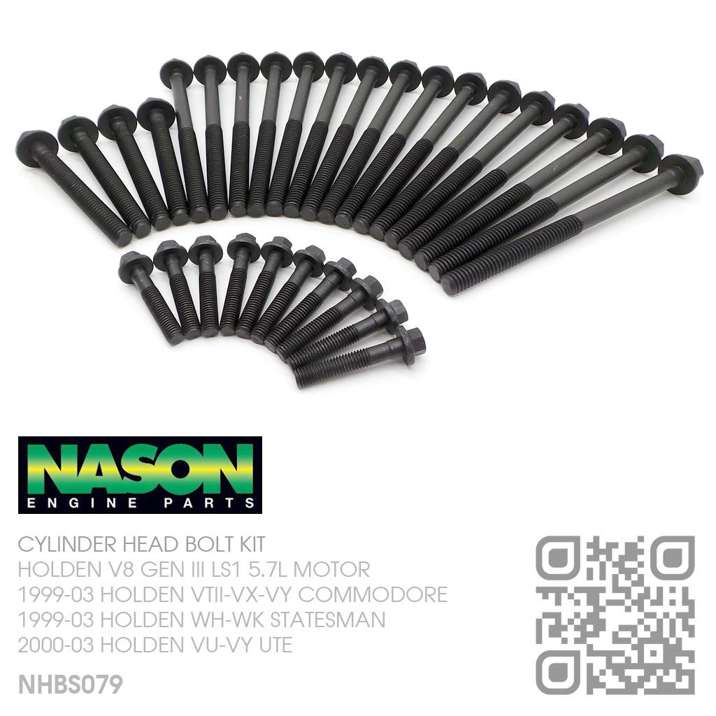 Nason Head Bolt Kit V8 Gen Iii Ls1 5 7l Motor Holden Vt