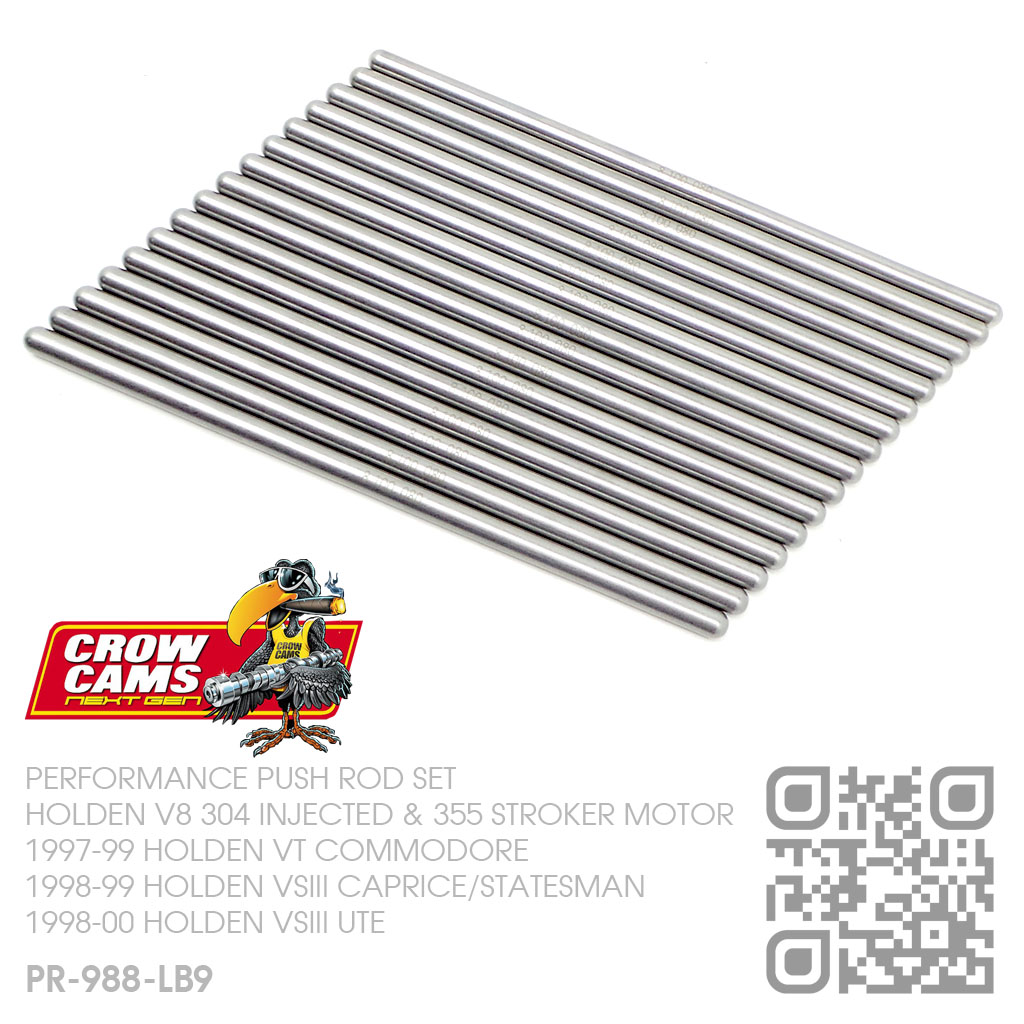 Crow Cams Superduty Pushrods V8 Injected 304 Amp 355 Roller
