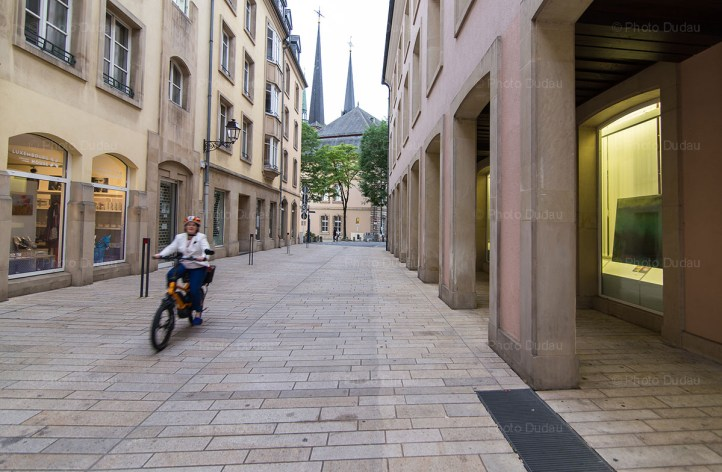 central Luxembourg city