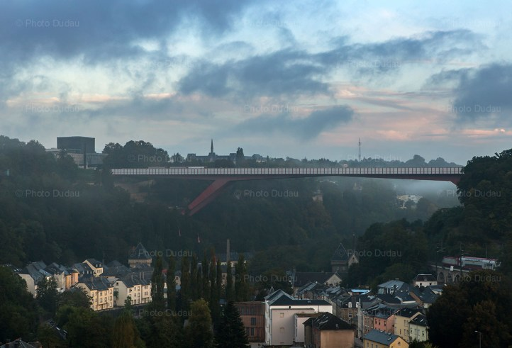 the red bridge luxembourg
