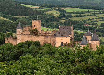 Bourscheid Castle Luxembourg