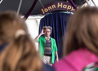 Jonn Happi performance at Ettelbrooklyn Street Fest
