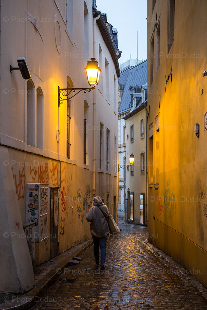 Street photo in Luxembourg city