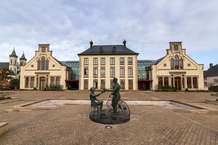 Mamer Castle in Luxembourg