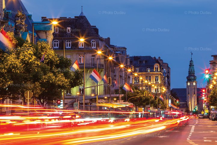 Luxembourg city gare