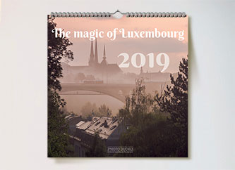 Magic Luxembourg Calendar 2019