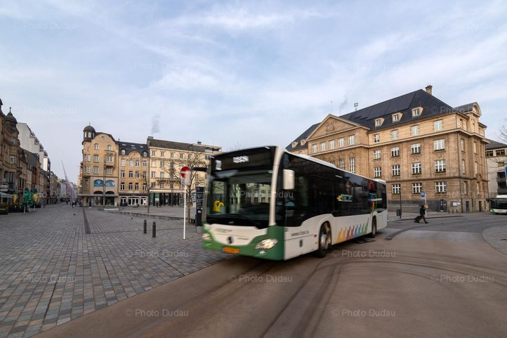 Bus in Esch-sur-Alzette