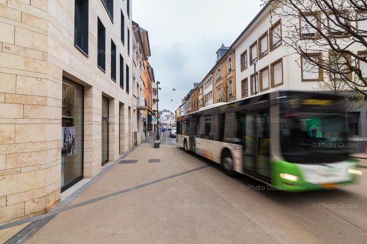 TICE bus in Dudelange