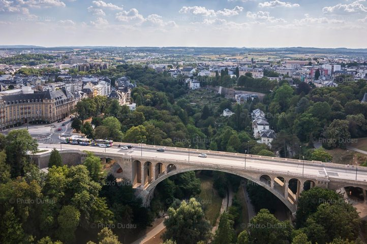 Pont Adolphe in Luxembourg city
