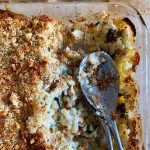 Courgette and Mushroom Pasta Bake