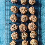 Oaty spiced cookies