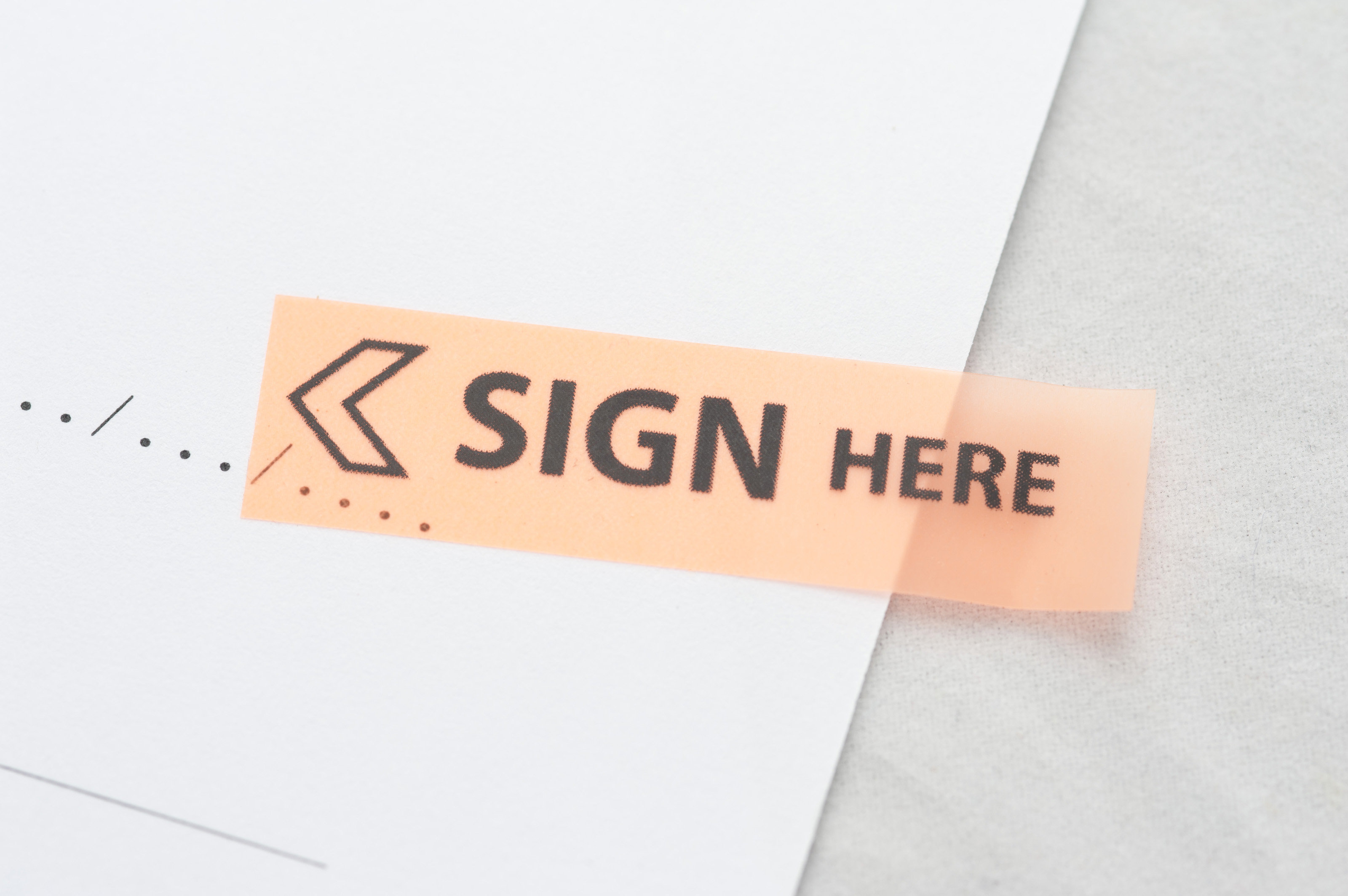 Sign Here8150  Stockarch Free Stock Photos