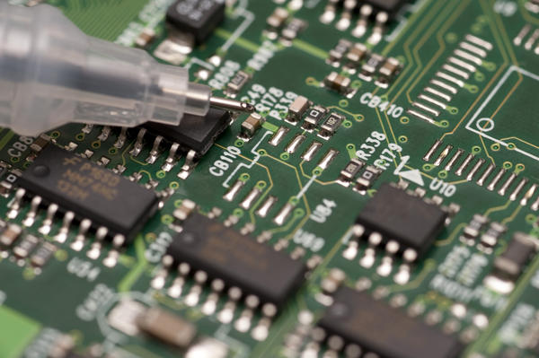 Circuit Board And Soldering Iron7156 Stockarch Free Stock Photos
