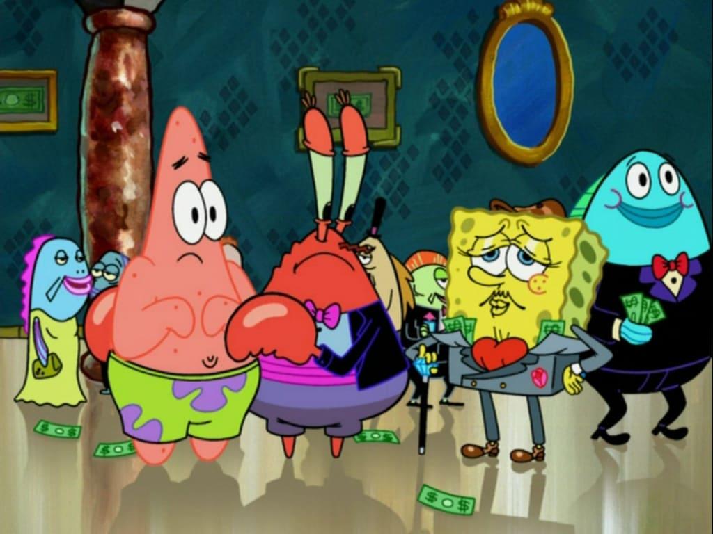 spongebob money
