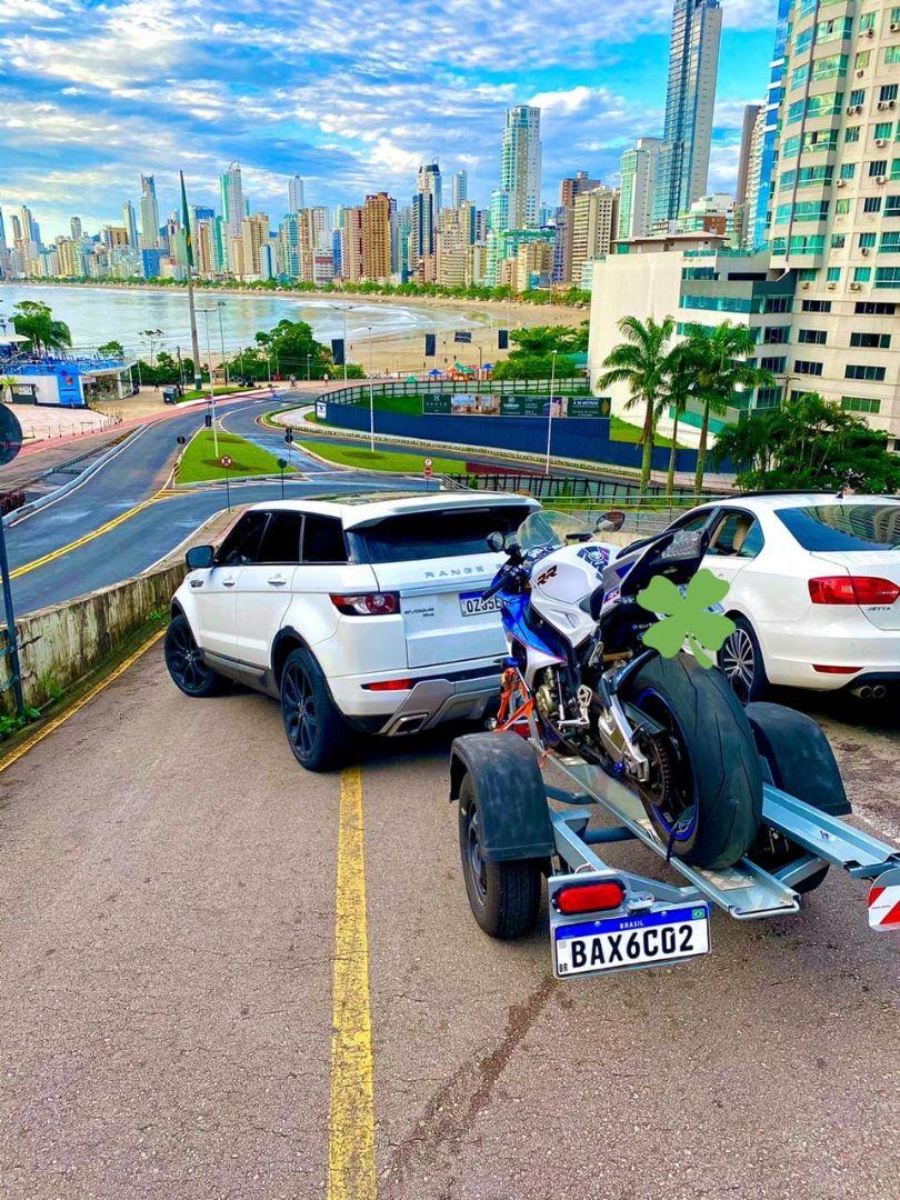 Carretinha para Transporte de Moto