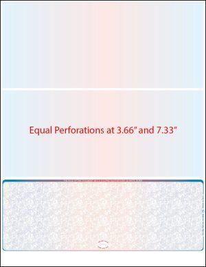 Equal perforation Prismatic MOCR bond Blank laser check
