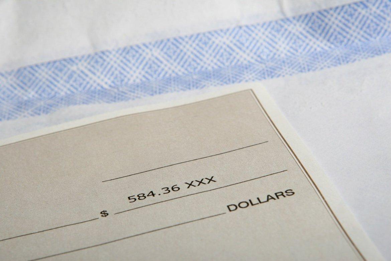 payroll check
