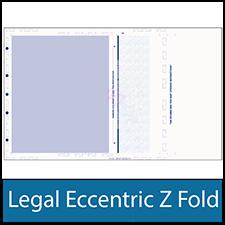 Legal Eccentric Z Fold