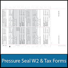 Pressure Seal Tax Forms - Pressure Seal 1099 and W2 Forms