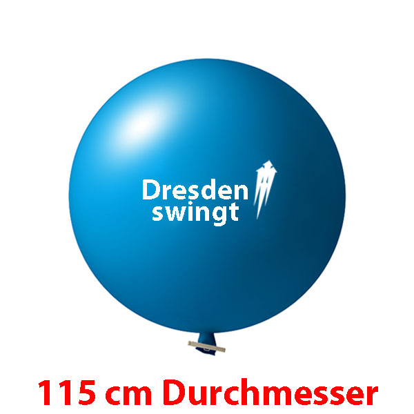 115 cm Riesenluftballon bedruckt 1 oder 2 farbig ab 10 Stück