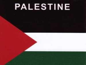 Aufkleber Palästina, Länderaufkleber, Nationalflagge, Autoaufkleber