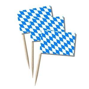 Käsepicker Bayern | Minifahnen Zahnstocherfähnchen