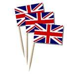Grossbritannien Käsepicker, Minifahnen, Zahnstocherfähnchen