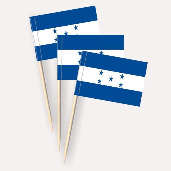 Käsepicker Honduras | Minifahnen Zahnstocherfähnchen
