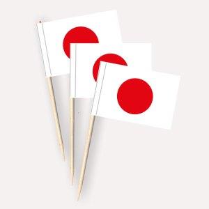 Japan Käsepicker, Minifahnen, Zahnstocherfähnchen