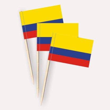 Kolumbien Käsepicker Minifähnchen Zahnstocherfähnchen