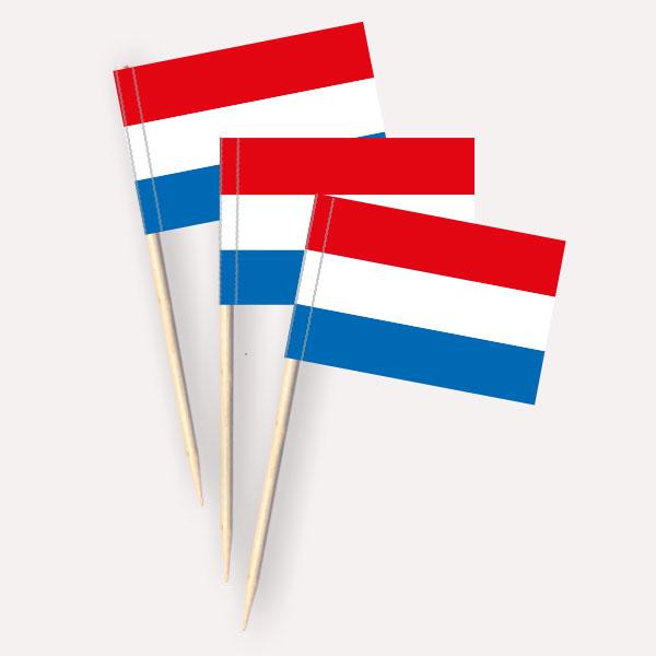 Niederlande Käsepicker, Minifahnen, Zahnstocherfähnchen