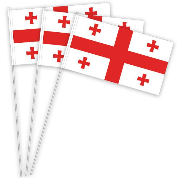 Georgien Papierfahnen kaufen