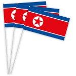 Nordkorea Papierfahnen kaufen